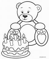 Teddy Bear Coloring Pages Printable Picnic Heart Teddybear Drawing Valentine Bears Cool2bkids Sleeping Getcolorings Hibernating Holding Getdrawings Practical sketch template