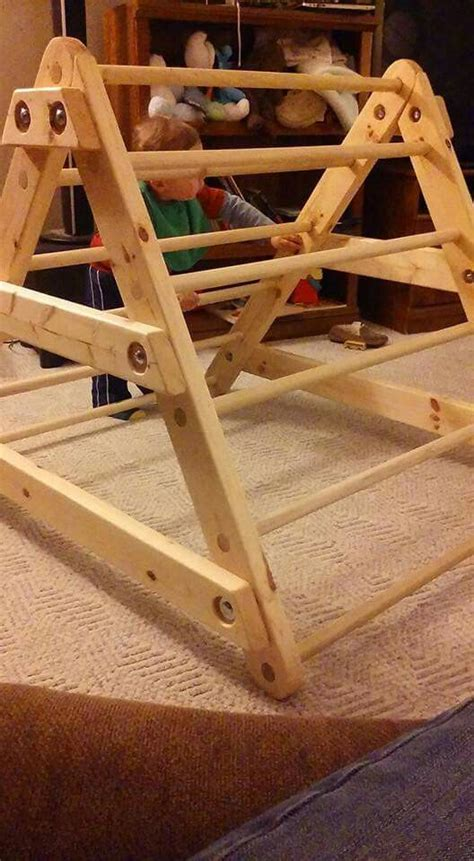 pickler triangle diy  play space