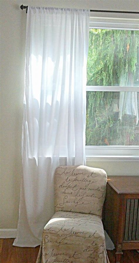 Organic Cotton Drapes - organic white cotton custom bedroom curtain drapes