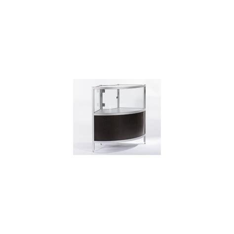 bureau angle wenge location vitrine d 39 angle wenge et vitre h 100 cm