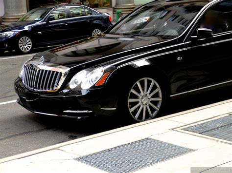 Encounter: Maybach 62s. One Of The Last Ones Ever Made