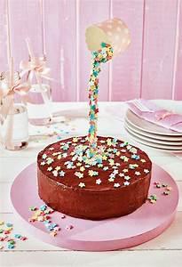 Kuchen Dekorieren Geburtstag : kleine torte mit sternregen rezept in 2019 zauberhafte torten rezepte schwebekuchen ~ Pilothousefishingboats.com Haus und Dekorationen
