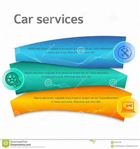 Design Element Template Presentation Manual Car Service01