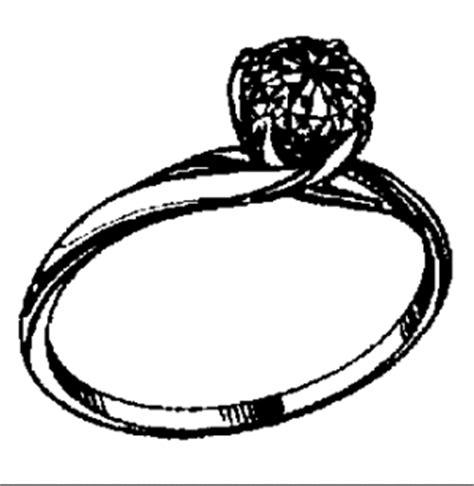 ring mit diamant  ausmalbild malvorlage sonstiges