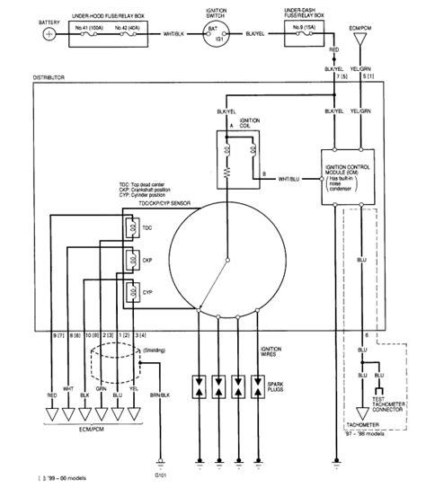 1997 honda cr v wiring diagram wiring data