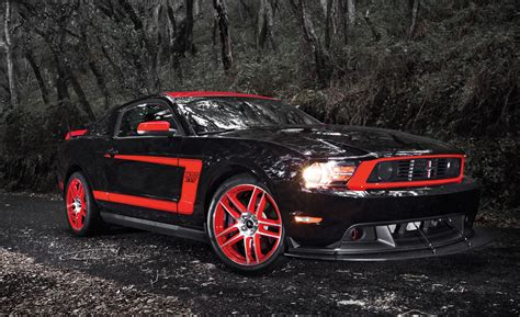 Black Mustang Wallpaper Hd