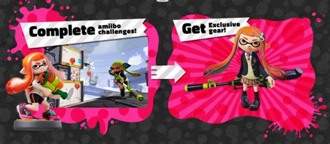 Check out the amiibo-exclusive Splatoon costumes - NintendoToday