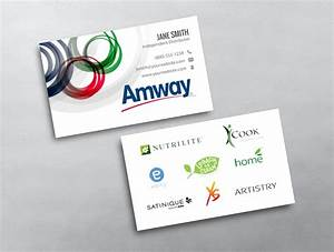 Amway business card 02 for Amway business card