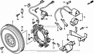 Honda Engines Gx640 Sd1 Engine  Jpn  Vin  Gaad