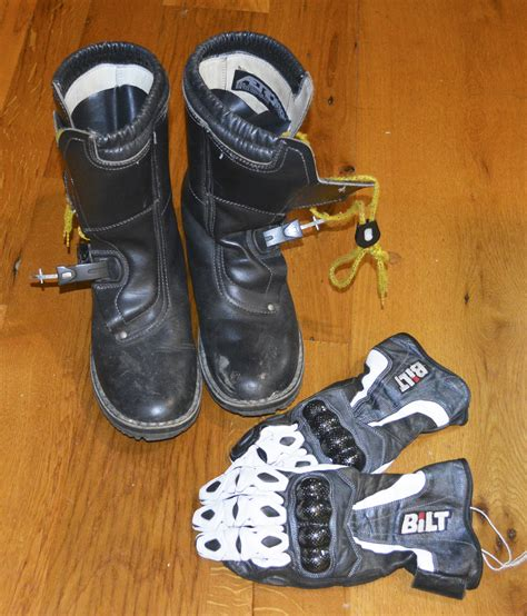 motorcycle gear boots mn man 39 s motorcycle 39 s totaled but gear saved his life