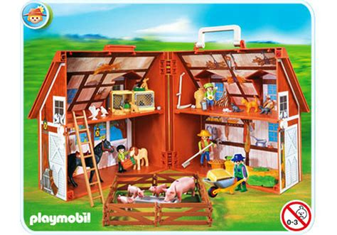 ferme transportable playmobil ferme transportable 4142 a playmobil 174