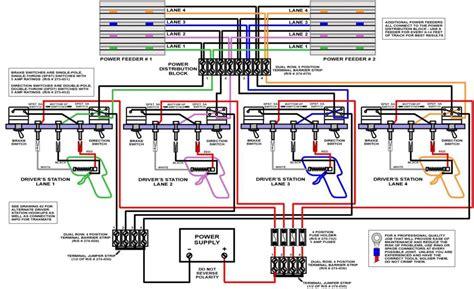 track wiring diagram slot car club