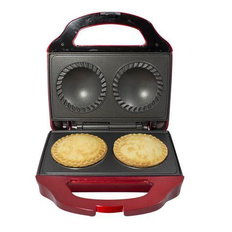 Gourmet Gadgetry Retro Diner Double Pie Maker   IWOOT