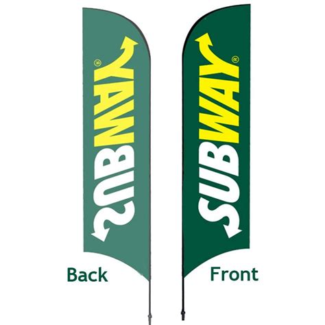 large promotional feather flag discount displays
