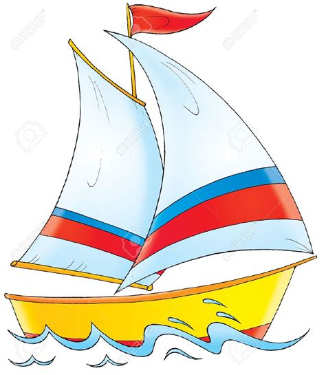 Cartoon Canal Boats by Yacht Clipart Boating Pencil And In Color Yacht Clipart