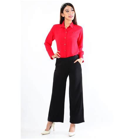 Mau Beli Celana Untuk jual beli celana kulot panjang basic trendy hitam baru