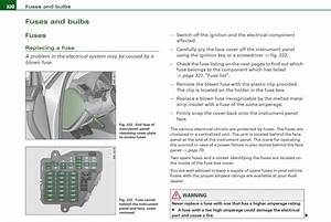 Audi A4 2004-2008 Fuse Box Location And Diagram