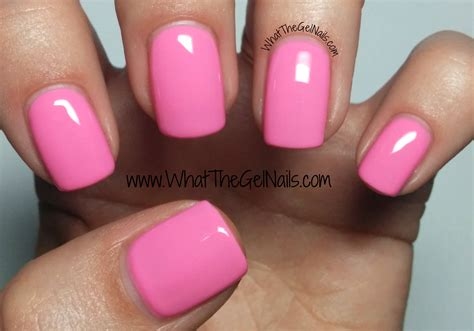 4 Pink Ibd Just Gel Nail Polish Colors