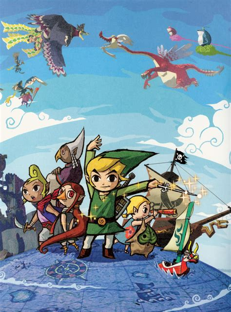 Retro Review The Legend Of Zelda The Wind Waker Gc