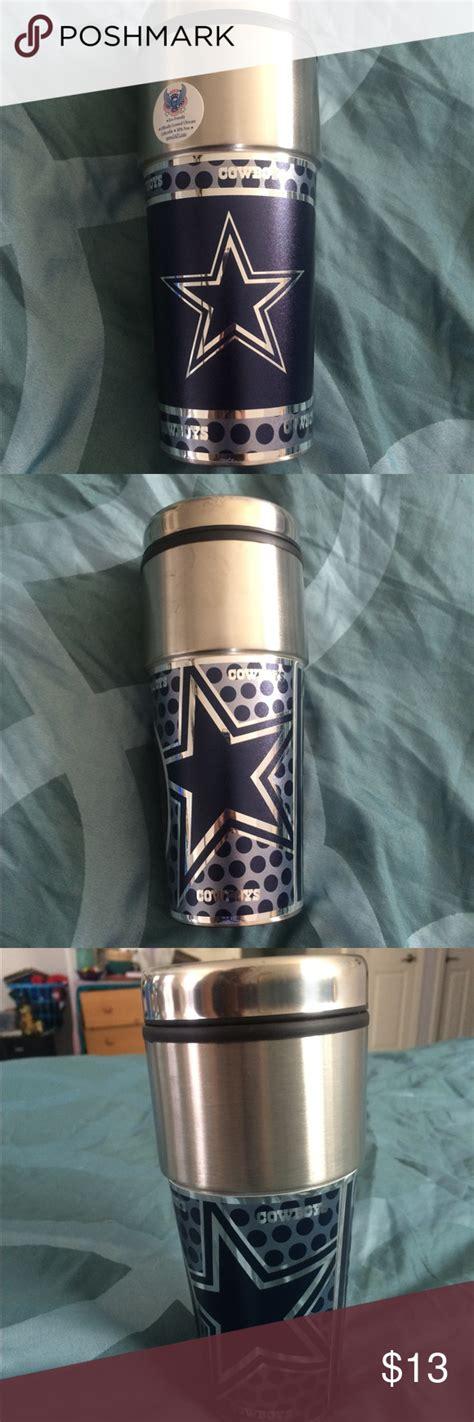 1.4 lbs coffee mug dimensions: Official NFL Dallas Cowboy's Travel Coffee Mug NWT Just in time for Football 🏈 Season! Brand new ...