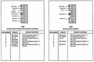 2003 Grand Marquis Radio Wiring Diagram