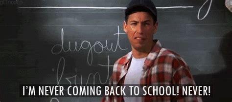 Billy Madison Back To School Meme - sad adam sandler gif find share on giphy