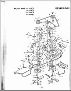 Murray 38 Inch Deck Belt Diagram