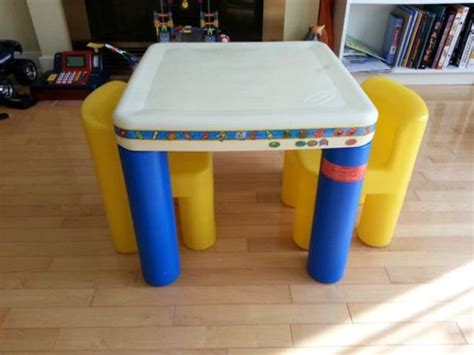 Tikes Table And Chairs Australia by Tikes Table With 2 Chairs Kanata Ottawa Mobile