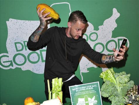 michael voltaggio takes selfies  charity  dishes