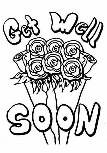 Soon Well Coloring Pages Printable Coloring4free Cards