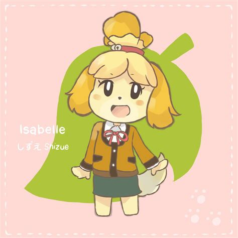 Isabelle Animal Crossing Wallpaper - animal crossing isabelle by chocomiru02 on deviantart