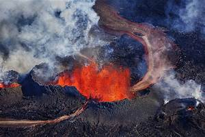 A Gallery Of Lava  U0026 Ice  B U00e1r U00f0arbunga Volcano