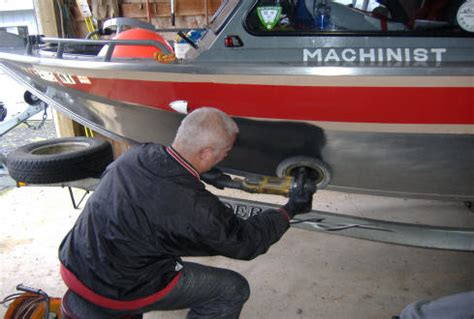 Sanding Aluminum Boat For Painting by Preserving Your Aluminum Boat Hu