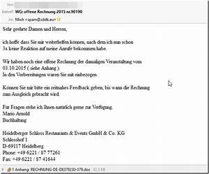 Wann Verjährt Eine Rechnung : vorsicht rechnungserinnerung offene rechnung 2015 von heidelberger schloss ist ein ~ Themetempest.com Abrechnung