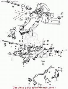 Honda Accord Front Suspension Diagram