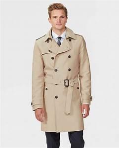 Trench Coat Homme Long : trench coat homme 79038492 we fashion ~ Nature-et-papiers.com Idées de Décoration