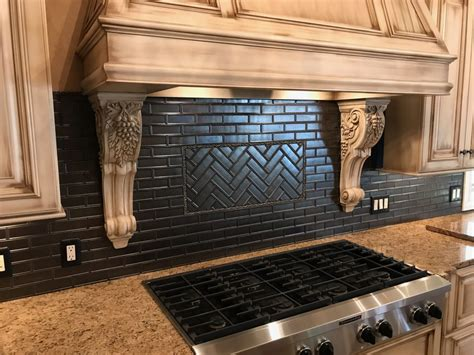 Classic Kitchen Backsplash, Project By Custom Creations