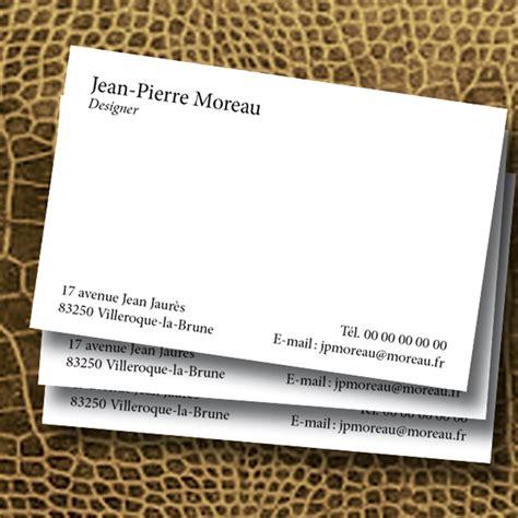 modèle carte de visite personnelle carte de visite avec texte