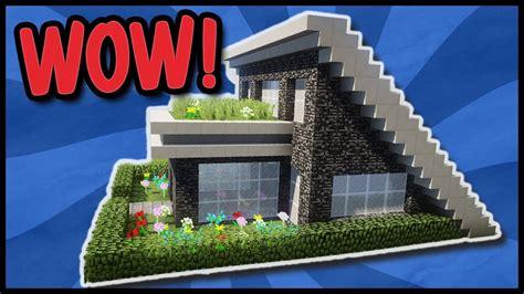 Moderne Häuser In Minecraft by Modernes Minecraft Haus Zum Nachbauen Minecraft Haus