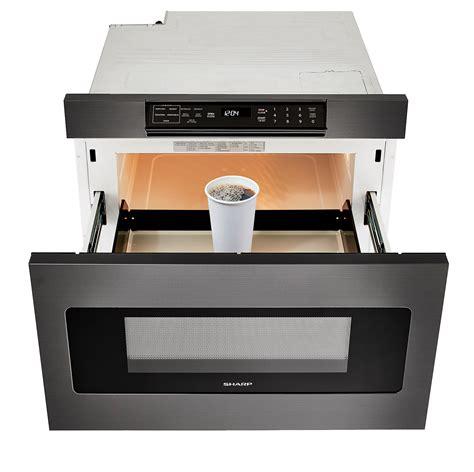 "SMD2470AH 24"" Black Stainless Steel Microwave Drawer"