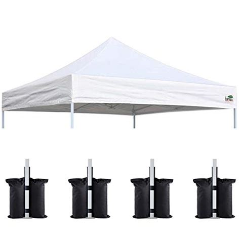 eurmax   pop  canopy replacement canopy tent top cover instant ez  ebay