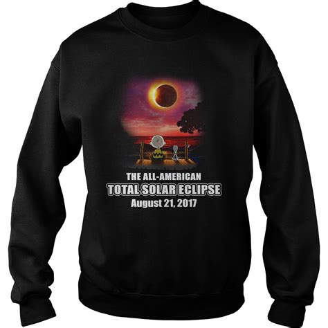 The All American Total Solar Eclipse August 21 2017 Shirt