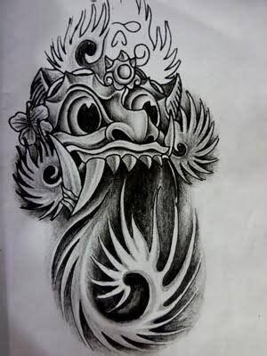 barong tattoo google zoeken balinese interesting