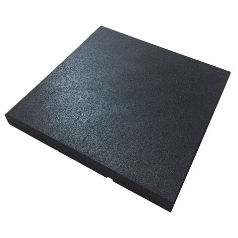 Impact Floor Mats by Shock Absorbing Rubber Mat 50mm Movement