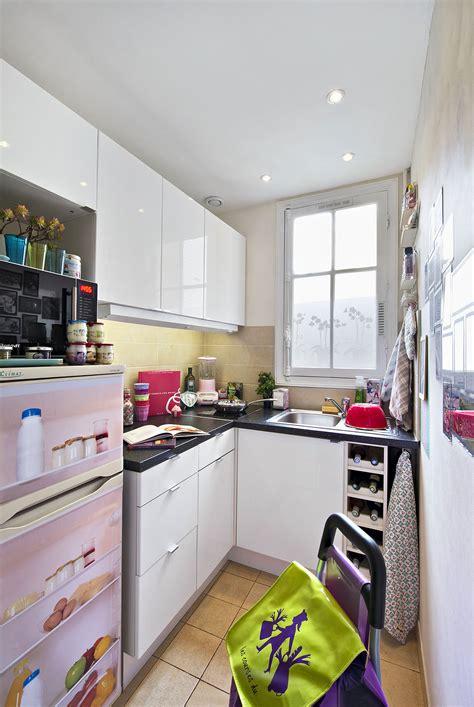 decorer une cuisine aménagement cuisine gain de place transformer