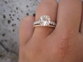 model cincin diamond gold engagement rings weddingbee