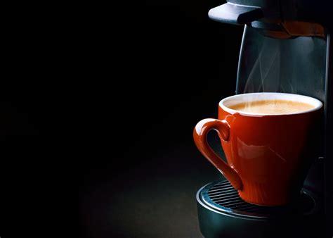 coffee espresso coffee machine cup steam foam coffee cup