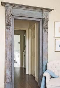 moulding and corbel door frame Remodeling Pinterest