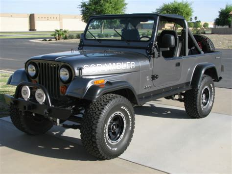 cj8 jeep jeep cj8 cj 8 scrambler frame off restoration 4 2l mopar