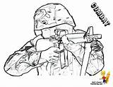 Army Coloring Pages Soldier Print Military Soldiers Yescoloring Gusto Boys Gun Combat Colouring Sheet Popular Fighting Coloringhome sketch template